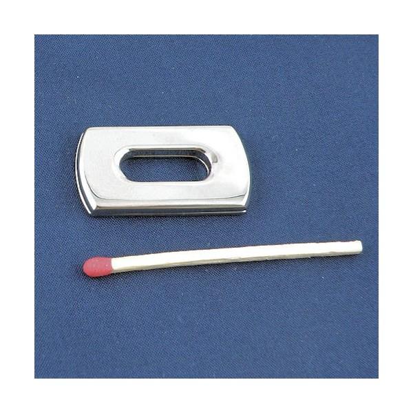 05c4009df6 Partie style Fermoir Hermes fournitures maroquinerie, 2 côtés, 3,2 cm.