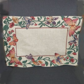 Woven placemat bag fabric decoration