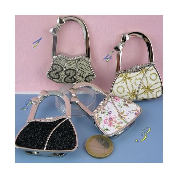 Porte sac métal luxe fourniture maroquinerie, cm
