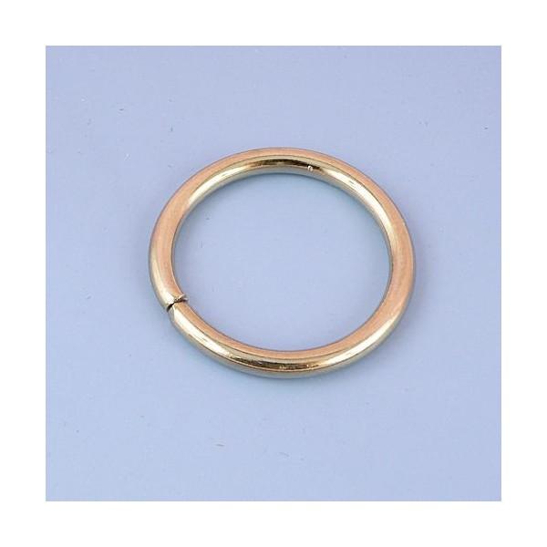 vente officielle le plus en vogue en arrivant Anneau rond métal fournitures maroquinerie 4 cm.