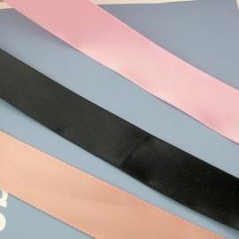 Satin ribbon, bows bag handles  23 mms sold by 10 cms.