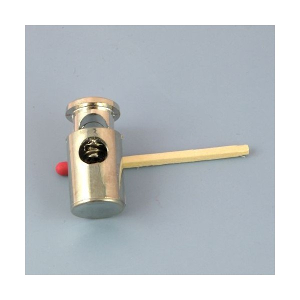 Arrêt cordon de 6 mm, stop cordelière fourniture maroquinerie