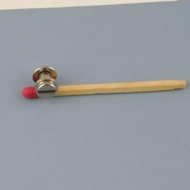 Plot vis métallique accessoire maroquinerie 9 mm