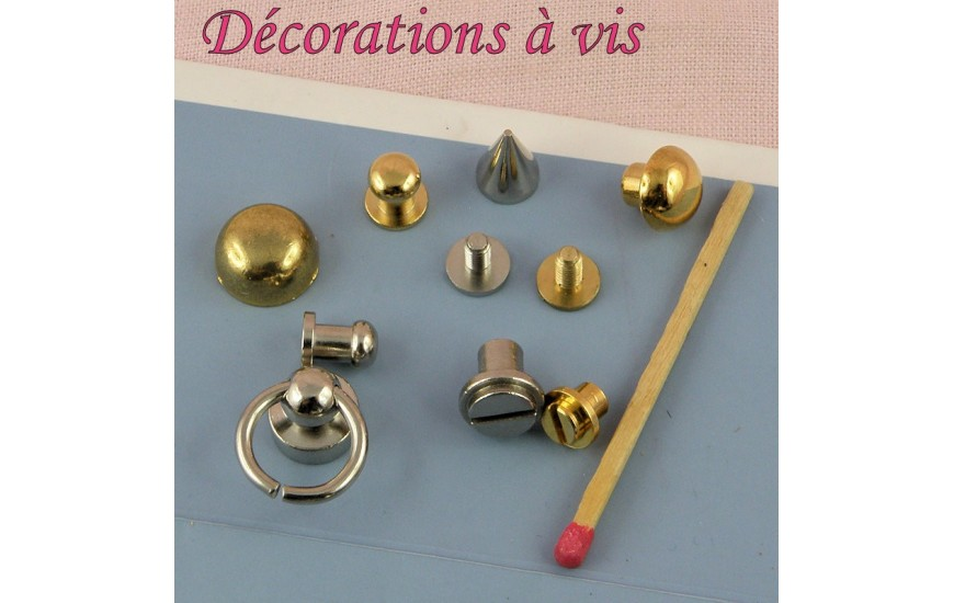Décorations à visser