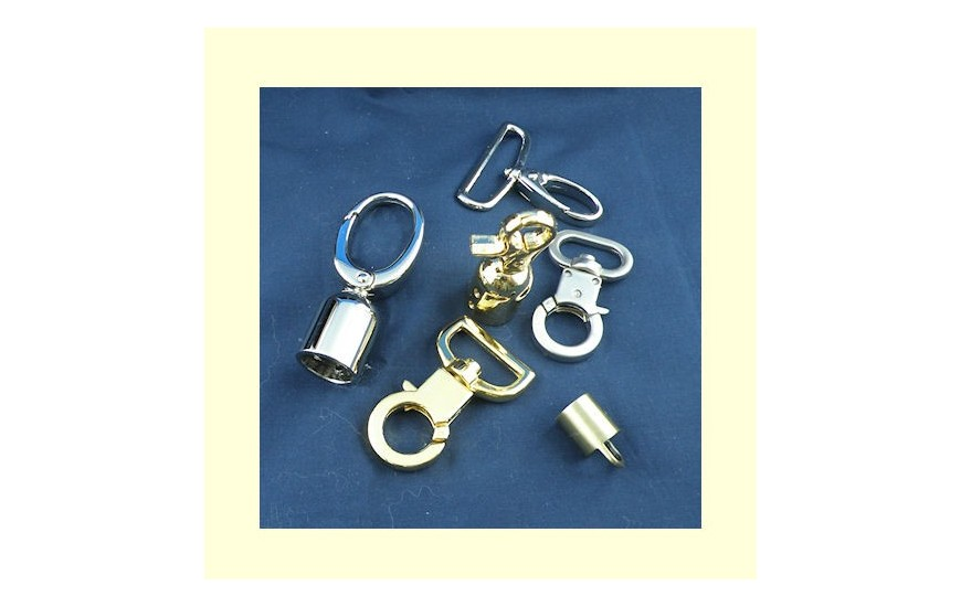 Swivel metal hook